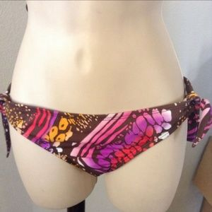 NWT REEF Tie Side Bikini Bottom MULTI COLOR #214